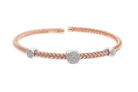 50ct1 4k Rose Gold bangle