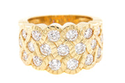 2.59ct 18k Yellow Gold Band