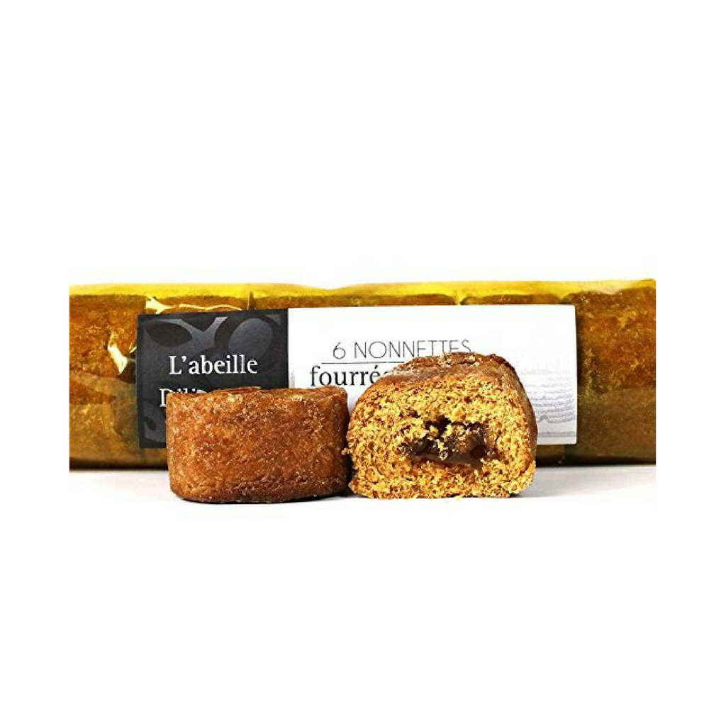 Honey Nonnettes Filled with Orange Jam by L'Abeille Diligente 7 oz-L'Abeille Diligente-French-Grocery-store