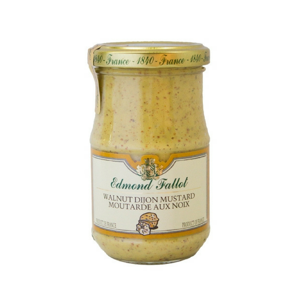 Edmond Fallot Walnut Mustard 7.4 oz (210g)-Edmond Fallot-French-Grocery-store