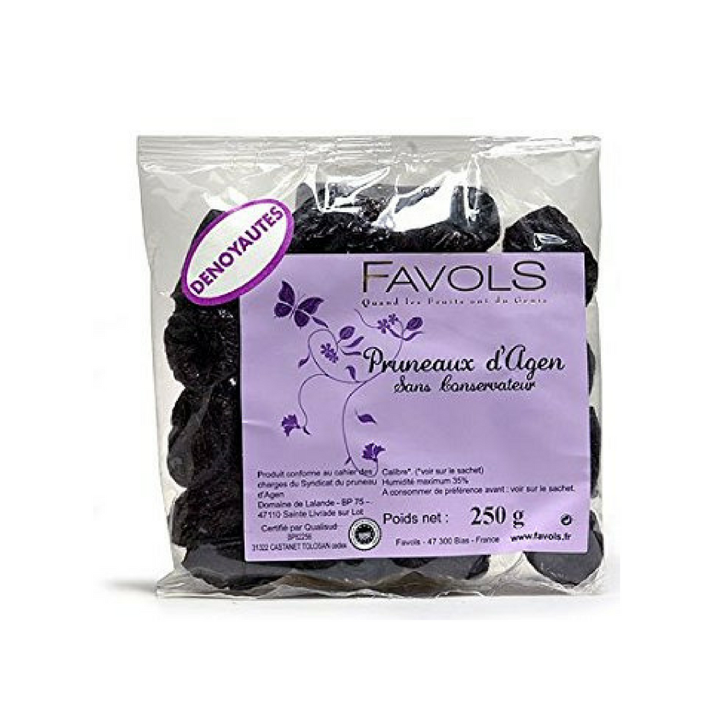 Premium Agen Pitted Prunes by Favols 8.8 oz Best Price-Favols-French-Grocery-store