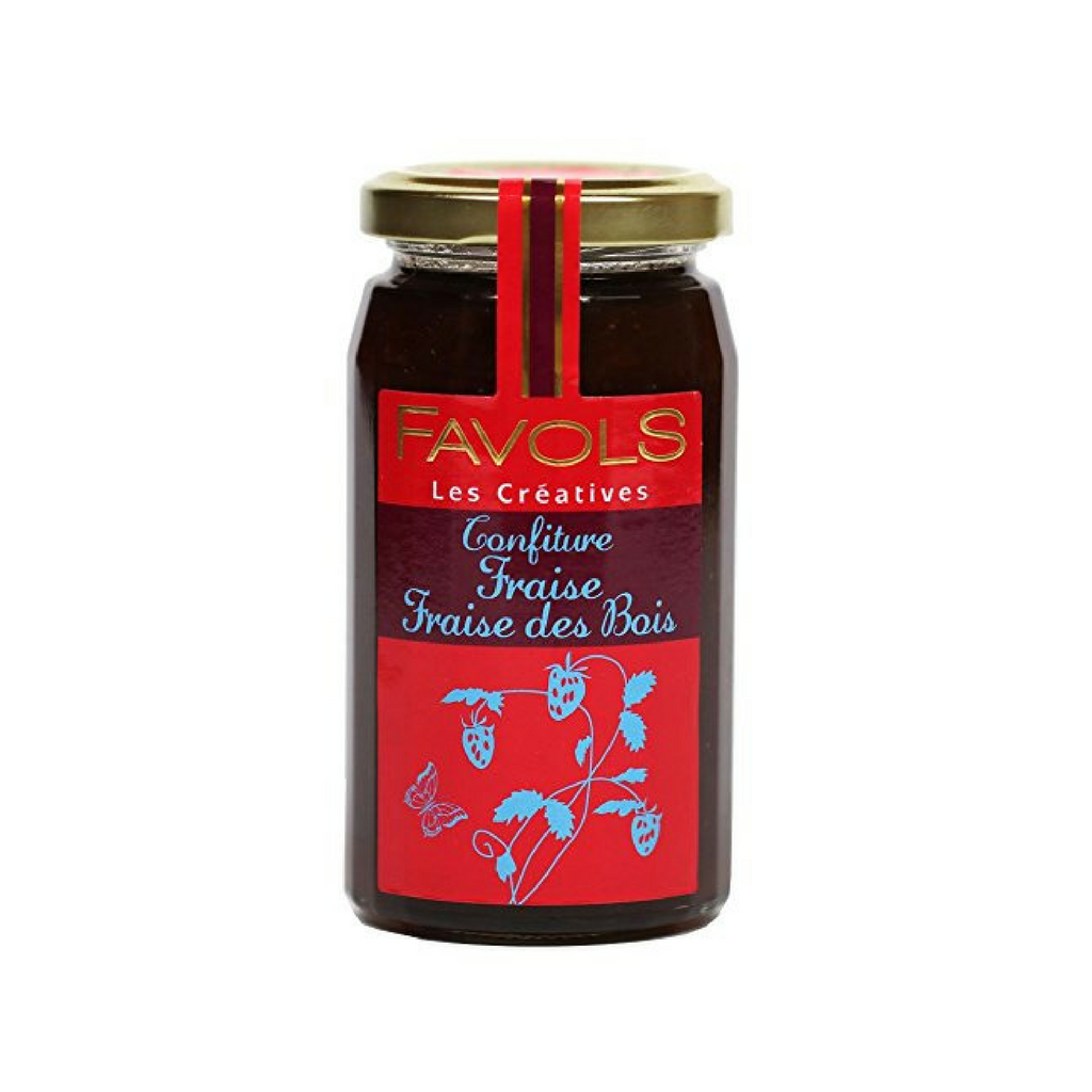 French Wild Strawberry Jam by Favols 9.5 oz Best Price-Favols-French-Grocery-store