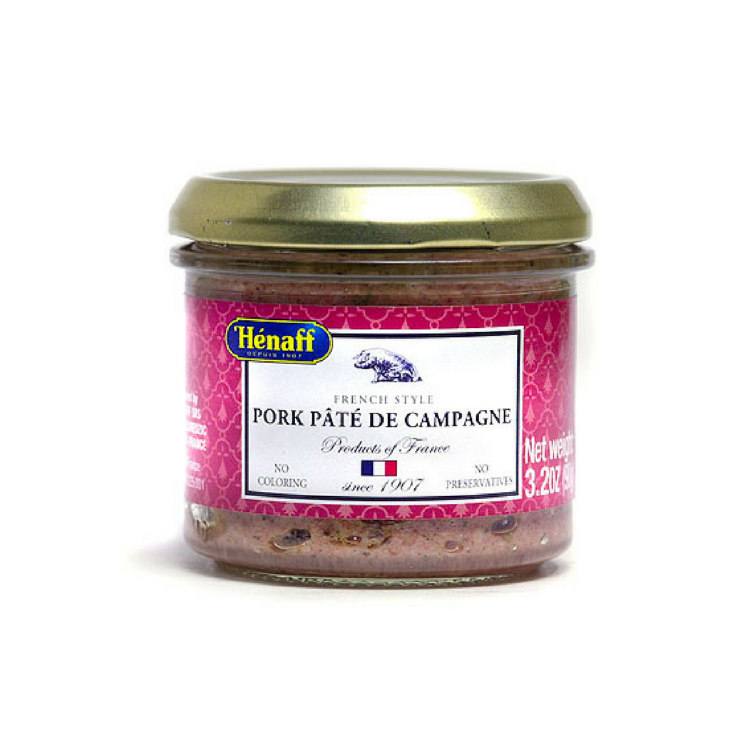 6 Pack Henaff Pork Pate de Campagne-Henaff-French-Grocery-store