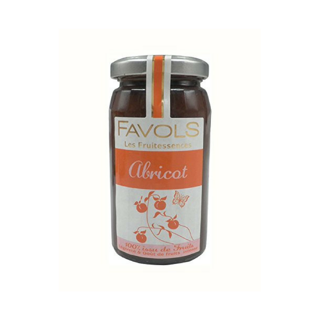 Apricot Fruitessence Jam by Favols (No Sugar Added) 8.8 oz-Favols-French-Grocery-store