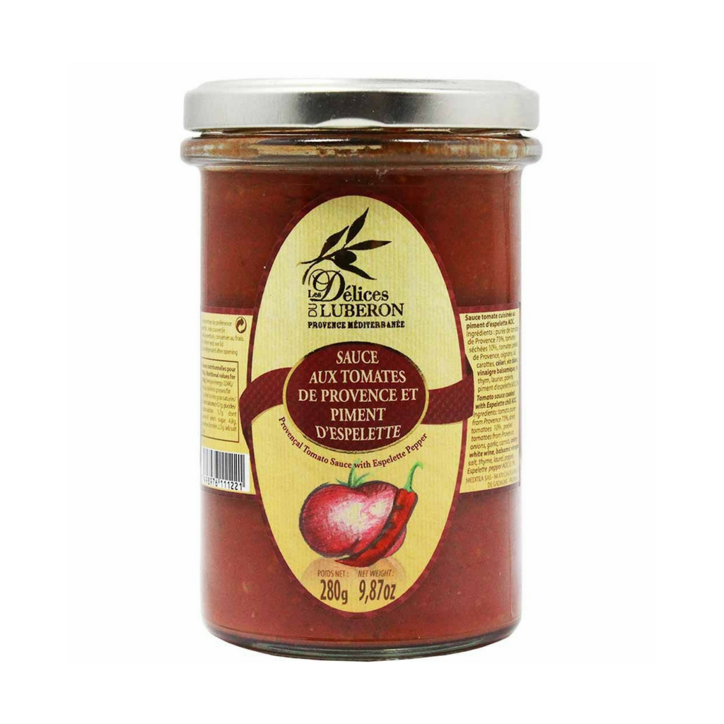 Delices du Luberon Tomato Sauce from Provence 9.8 oz-Delices du Luberon-French-Grocery-store