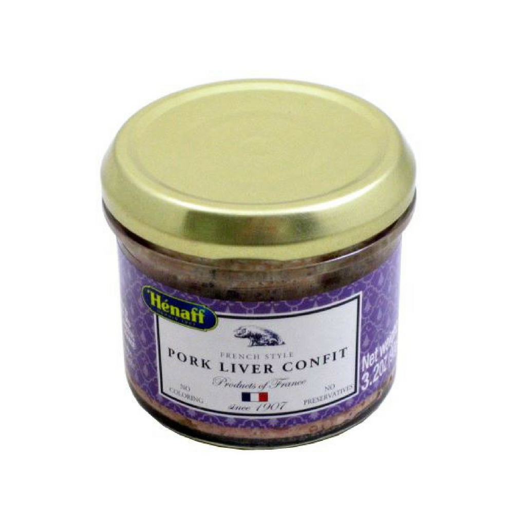 6 Pack Henaff Pork Liver Confit Best Price-Henaff-French-Grocery-store