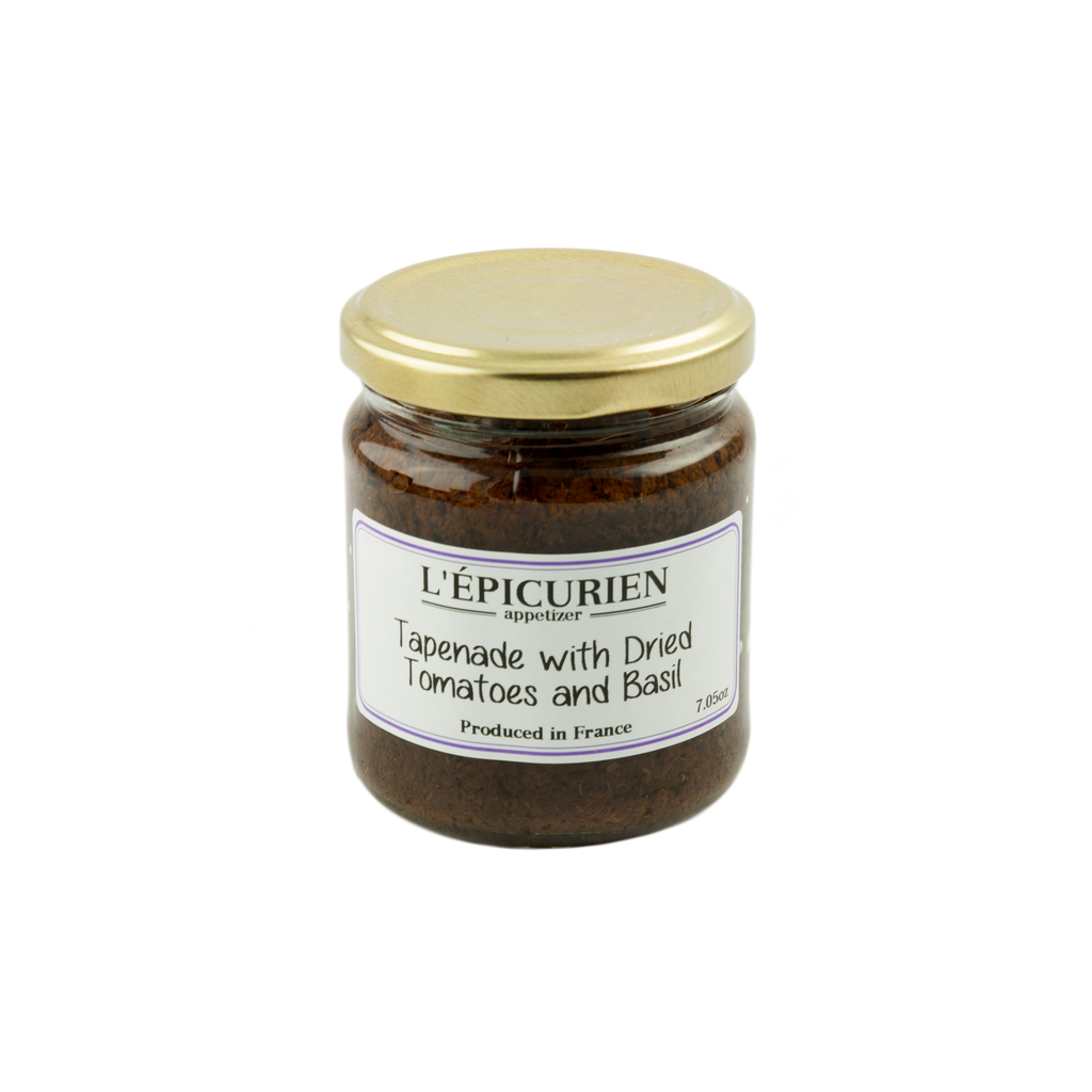 Epicurien Tapenade with Dried Tomatoes and Basil 7 oz-Epicurien-French-Grocery-store