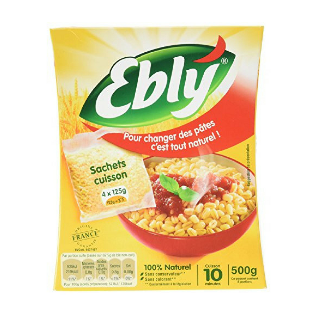 Ebly Wheat Groats 17.6 oz. (500g)-Ebly-French-Grocery-store