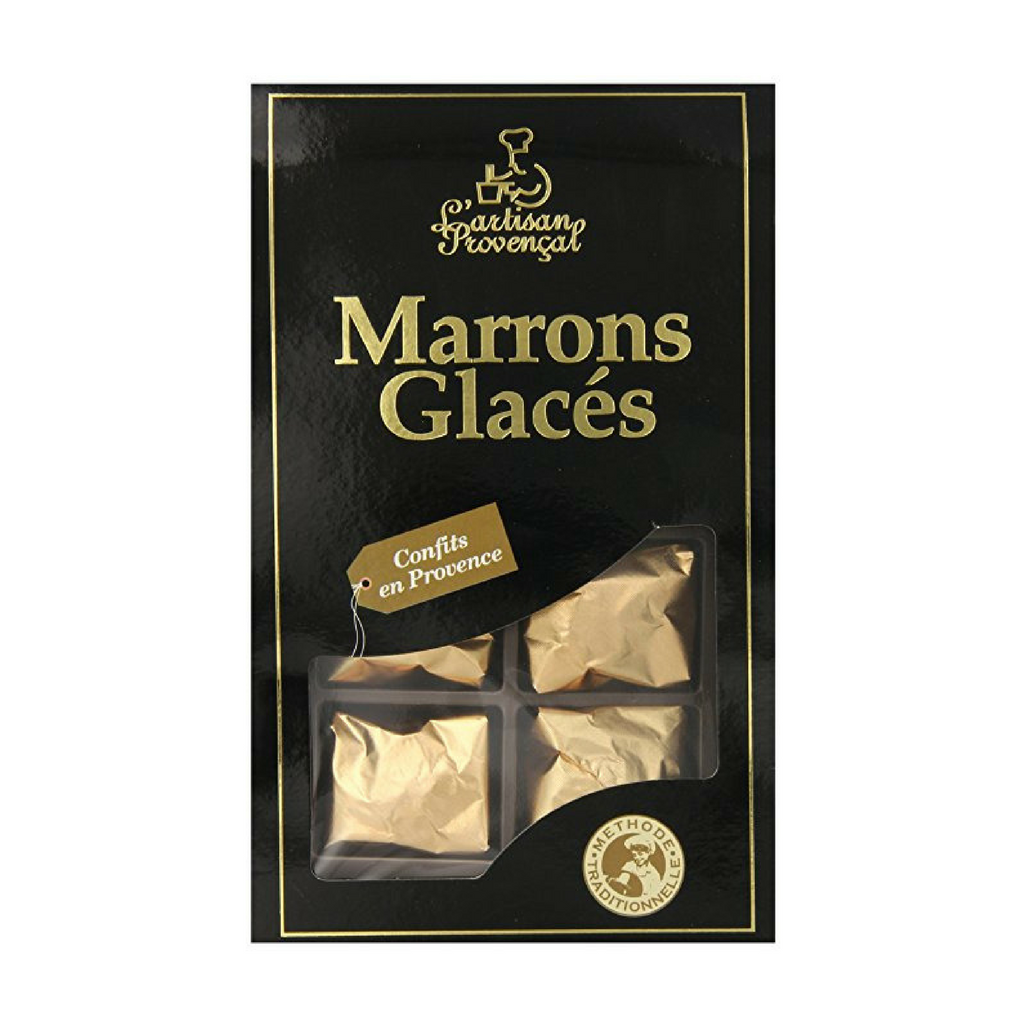 Candied Chestnuts Marrons Glaces by Artisan Provencal 8 Pcs Best Price-Artisan Provencal-French-Grocery-store
