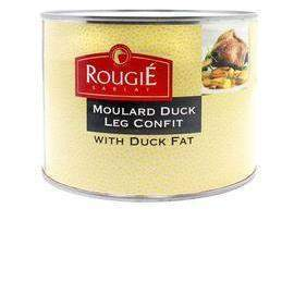 Moulard Duck Leg Confit by Rougie 52.9 oz (Multipack Price)-Rougie-Le Tablier Bleu | Online French Supermaket