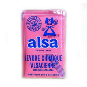Alsa · Baking powder, pack of 7 sachets-Alsa-French-Grocery-store