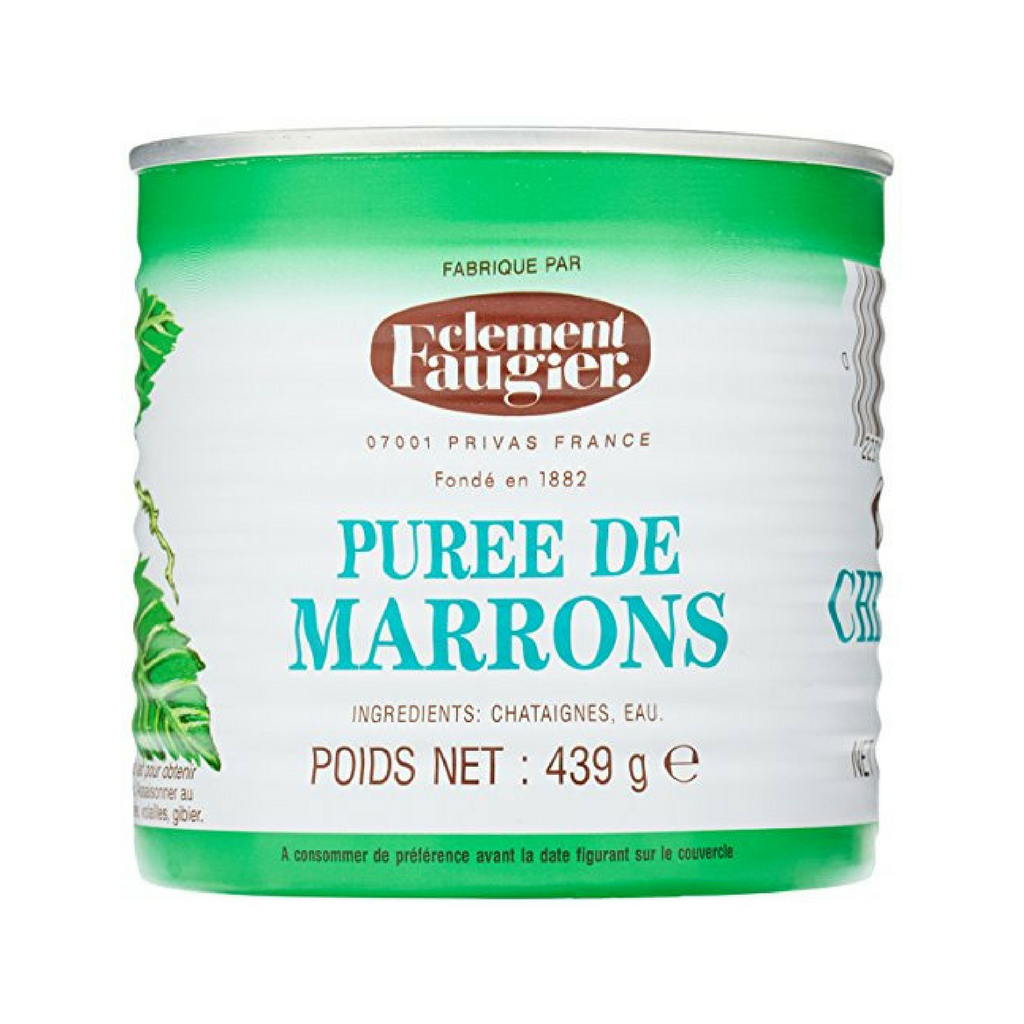 Clement Faugier Unsweetened French Chestnut Marrons Puree 15.5 oz Best Price-Clement Faugier-French-Grocery-store