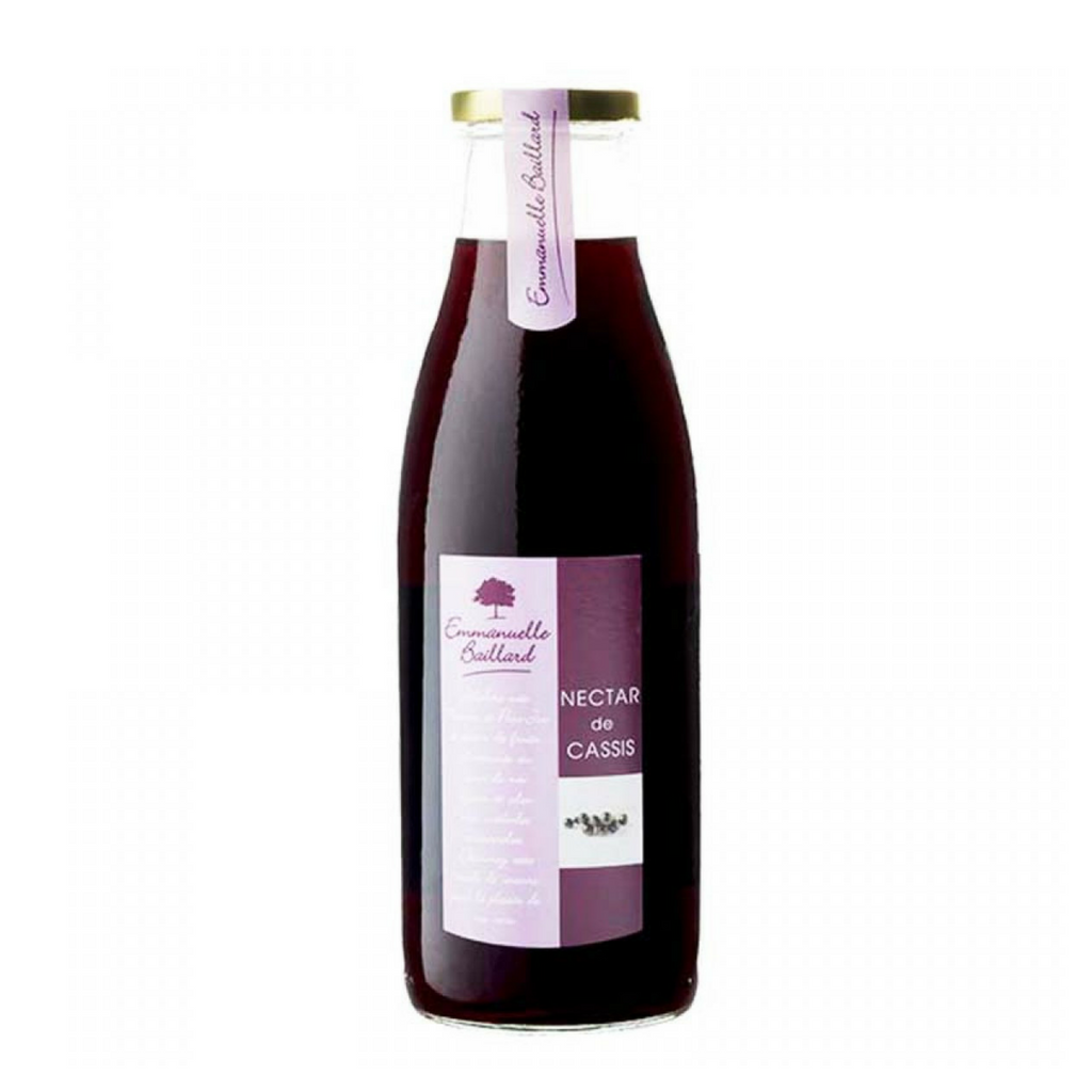 Emmanuelle Baillard French Blackcurrant Nectar 25.3 fl oz. (750 ml)-Emmanuelle Baillard-French-Grocery-store