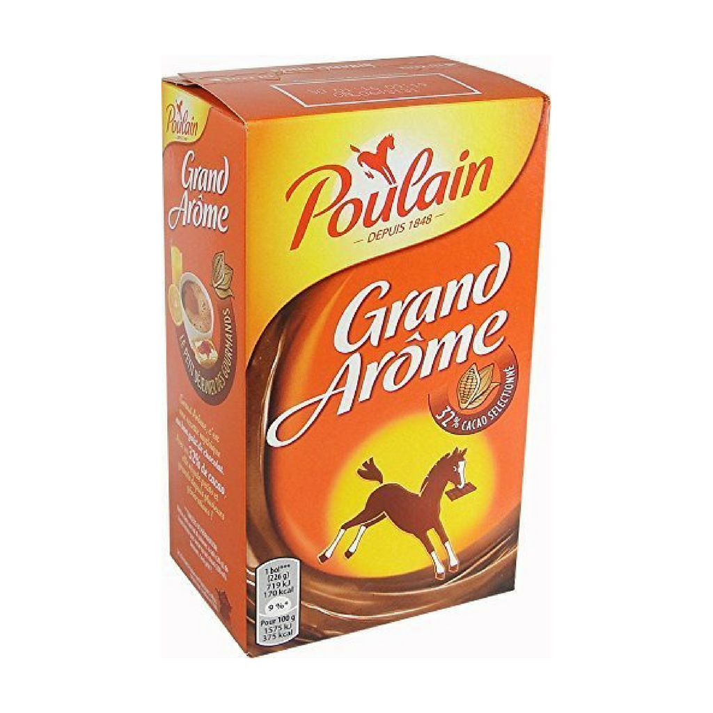 Poulain Grand Arome French Hot Chocolate Mix 8.8 oz. (250g)-Poulain-French-Grocery-store