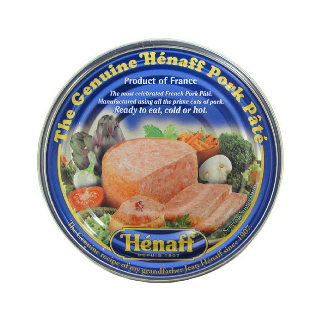 Authentic French Pork Pate by Henaff 5.4 oz Best Price-Henaff-French-Grocery-store