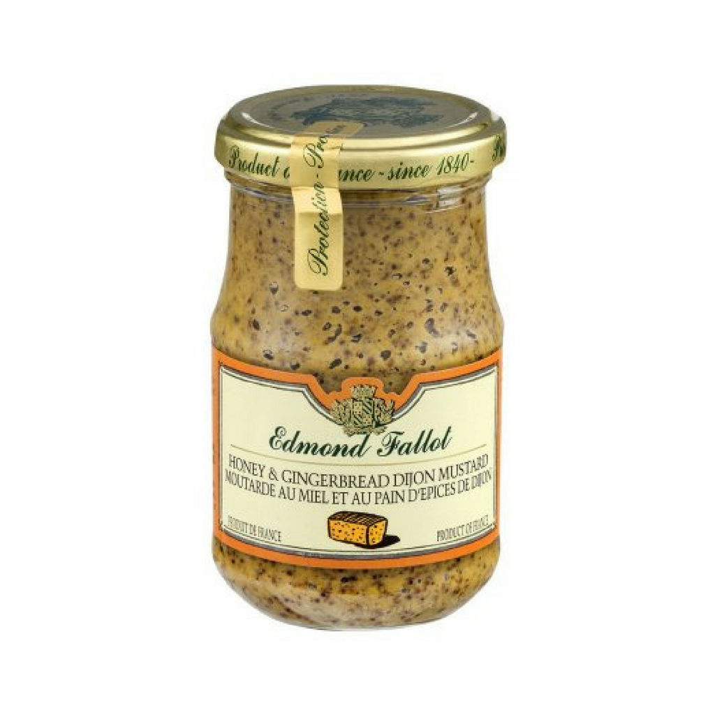 Edmond Fallot Honey & Gingerbread Dijon Mustard 7.2 oz. (205 g)-Edmond Fallot-French-Grocery-store