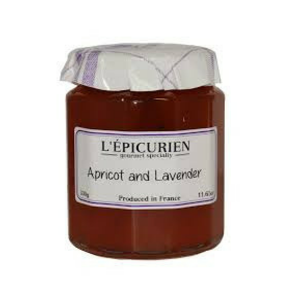 Epicurien Apricot and Lavender Jam 11.6 oz-Epicurien-French-Grocery-store