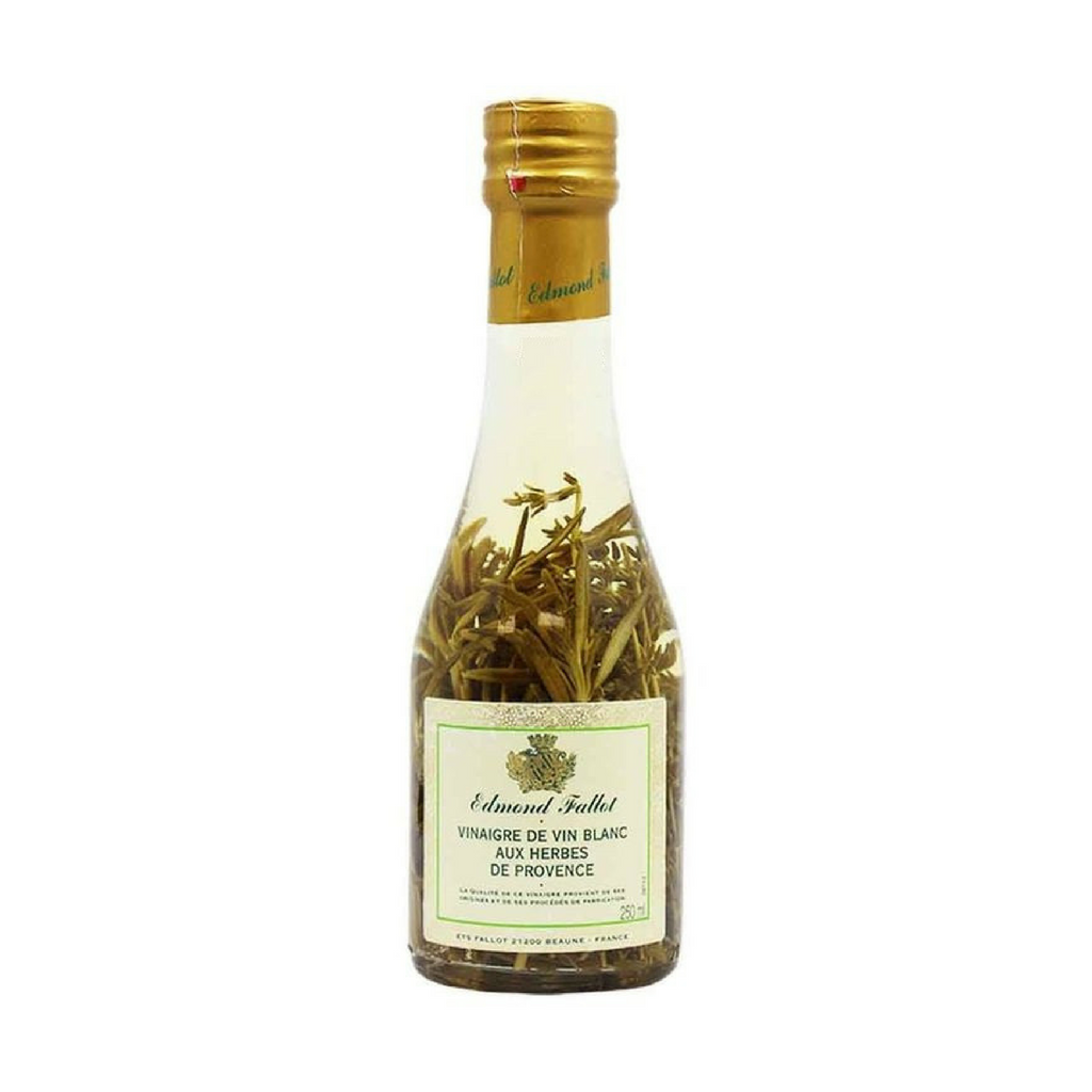 Edmond Fallot White Wine Vinegar with Provence Herbs 8.3 oz (250ml)-Edmond Fallot-French-Grocery-store