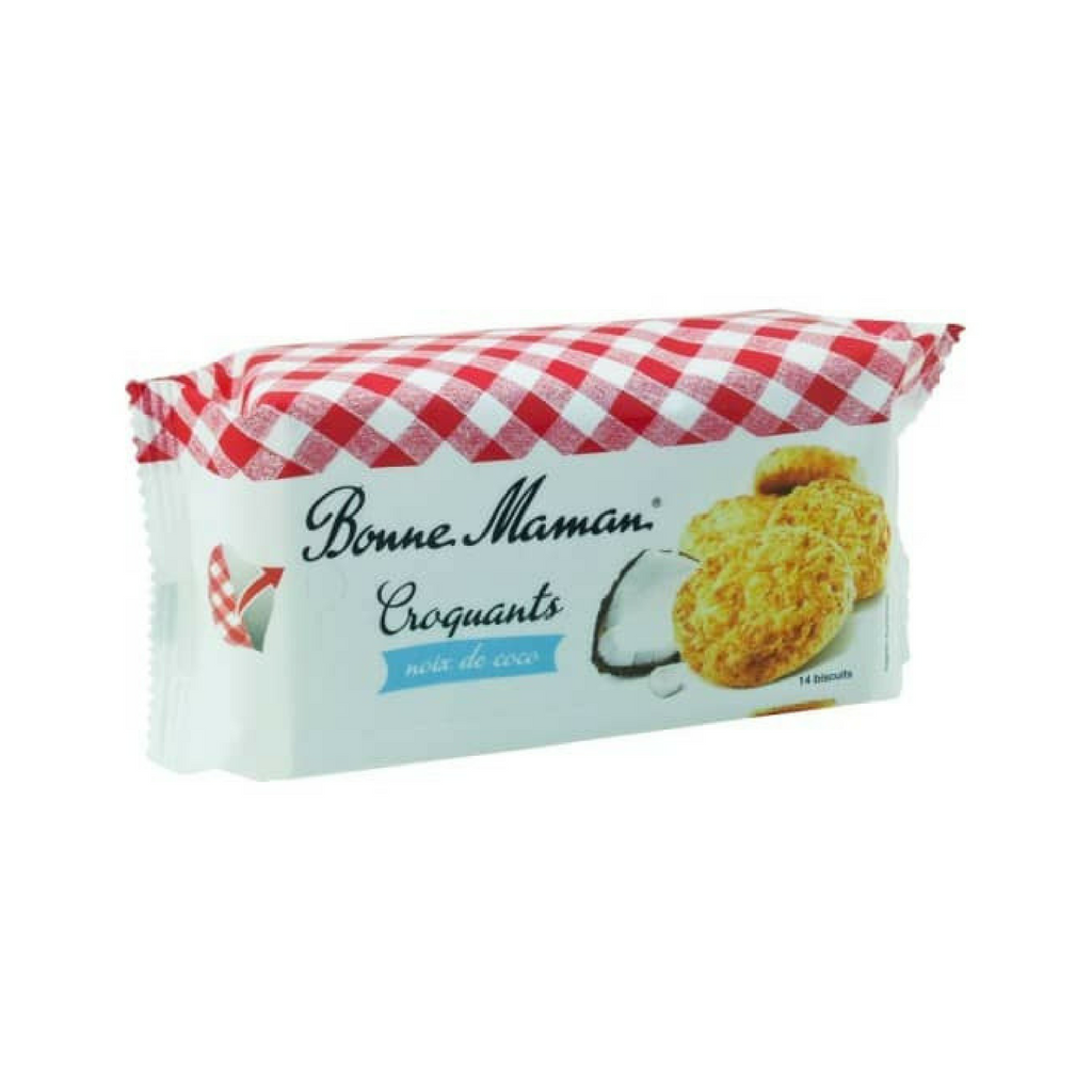Bonne Maman French Coconut Croquants Cookies 5.3 oz-Bonne Maman-French-Grocery-store