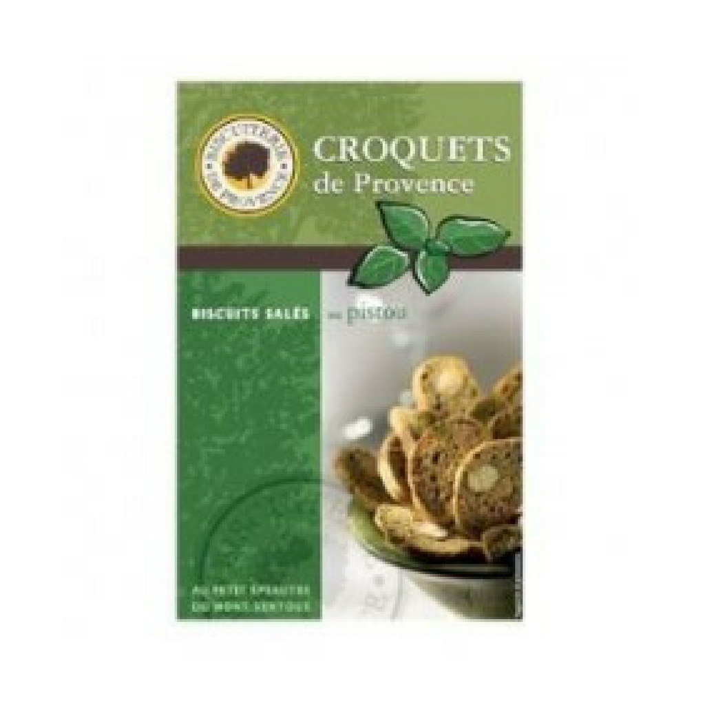Biscuiterie de Provence Savory Pistou Pesto Crackers 2.6oz Best Price-Biscuiterie de Provence-French-Grocery-store