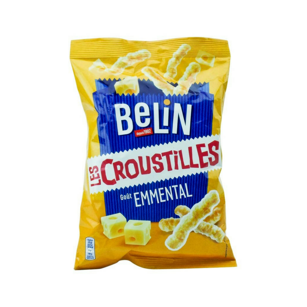 Belin Croustilles French Cheese Snack 3.1 oz. (90g)-Belin-French-Grocery-store