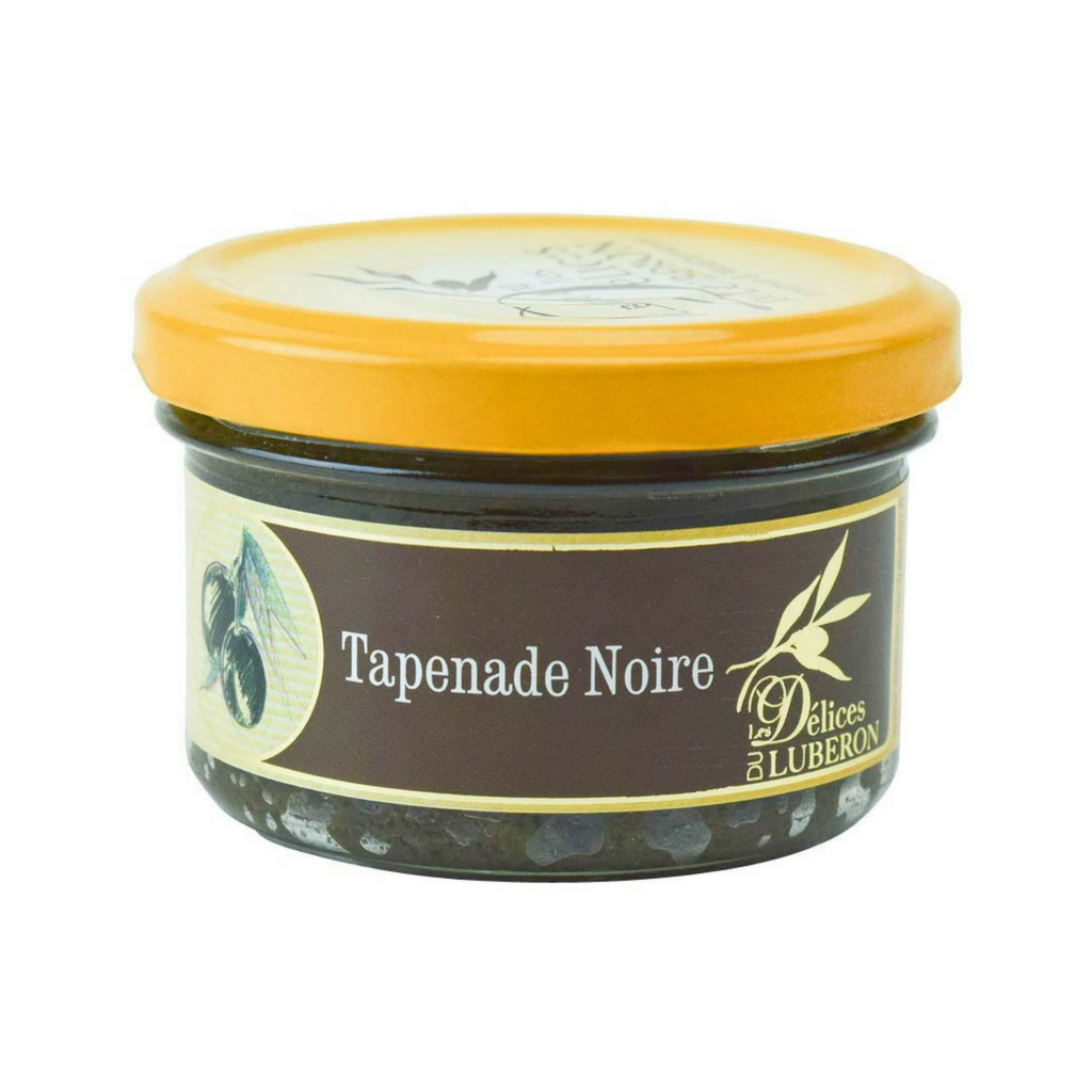 Delices du Luberon Black Olive Tapenade 3.1 oz. (90 g)-Delices du Luberon-French-Grocery-store