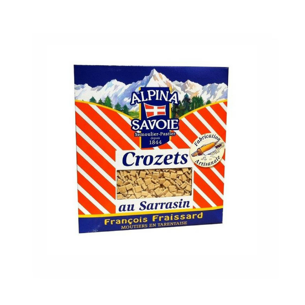 Alpina Savoie · Crozets w/ buckwheat · 500g (17.6 oz)-COOKING & BAKING-Alpina Savoie-Le Tablier Bleu | Online French Supermaket