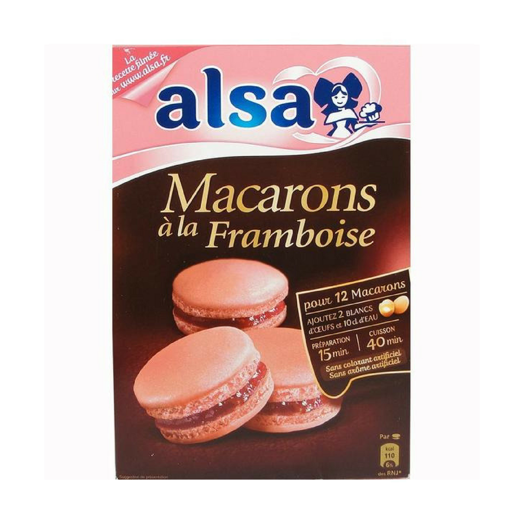 Alsa · Raspberry macaron mix - French Macarons-COOKING & BAKING-Alsa-Le Tablier Bleu | Online French Supermaket