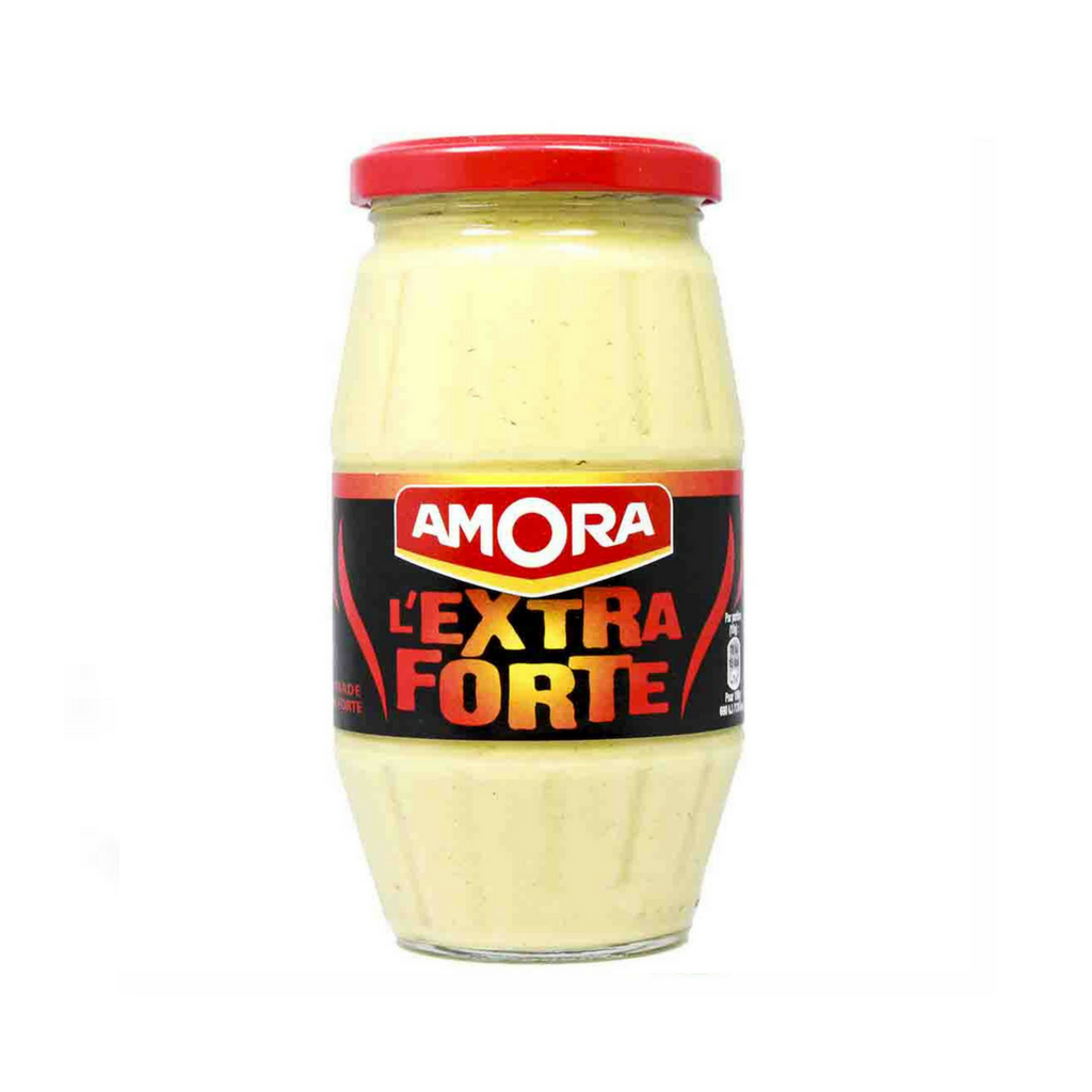 Amora French Dijon Mustard Extra Strong 15.5 oz-Amora-Le Tablier Bleu | Online French Supermaket