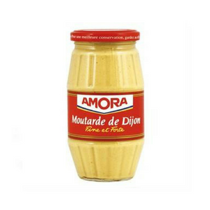 Amora Mustard 440g (15.5 oz)-FRENCH ÉPICERIE-Amora-Le Tablier Bleu | Online French Supermaket