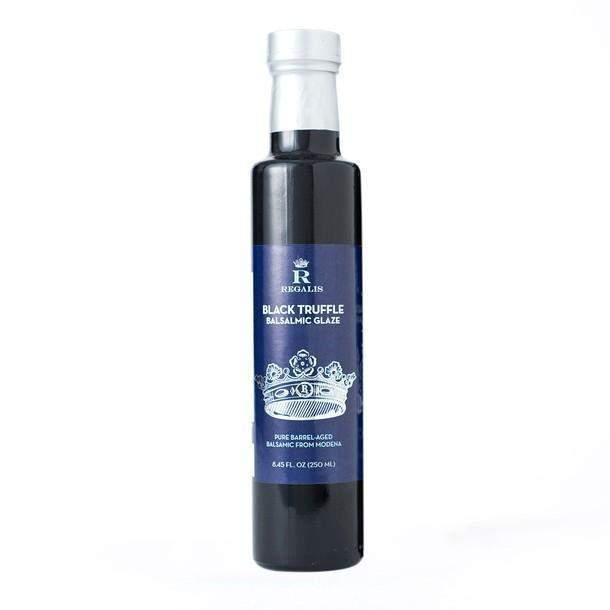 Black Truffle Infused Balsamic Glaze 250 ml Regalis Food-FOIE GRAS & TRUFFLES-Regalis Food-Le Tablier Bleu | Online French Supermaket