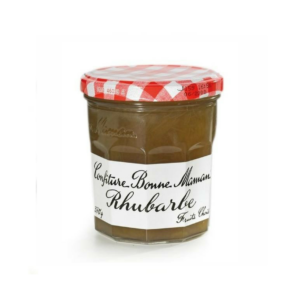 Bonne Maman French Rhubarb Jam 13oz.-FRENCH ÉPICERIE-Bonne Maman-Le Tablier Bleu | Online French Supermaket