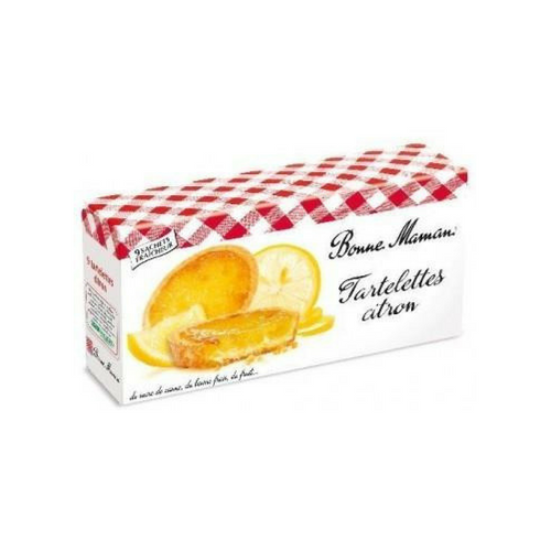 Bonne Maman · tartlet lemon · 135g (4.8 oz)-DESSERTS & SWEETS-Bonne Maman-Le Tablier Bleu | Online French Supermaket