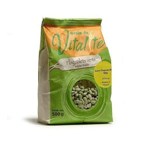 Cavac · Green flageolet beans · 500g (17.6 oz)-COOKING & BAKING-Cavac-Le Tablier Bleu | Online French Supermaket