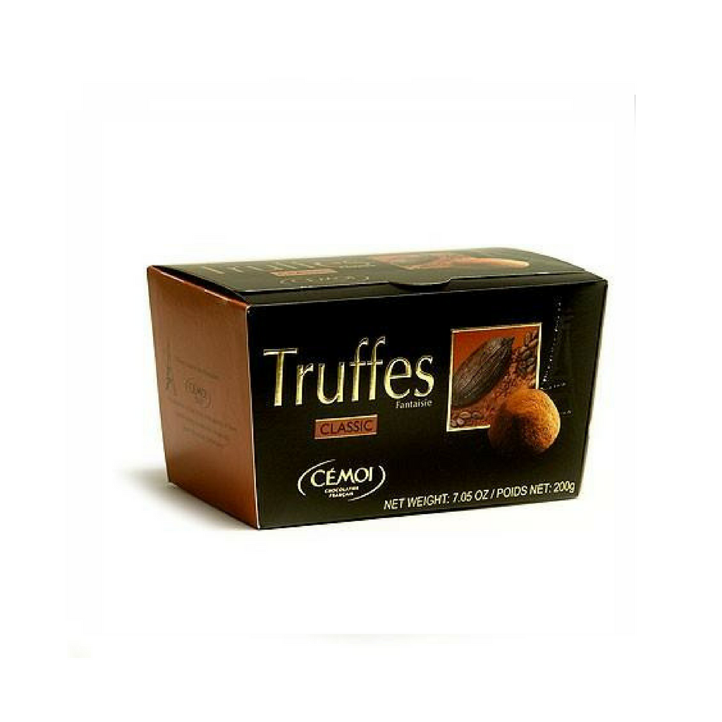Cemoi Truffes Fantaisie · Chocolate truffles classic · 200g-DESSERTS & SWEETS-Cemoi-Le Tablier Bleu | Online French Supermaket