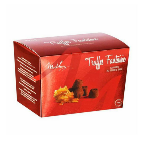 Chocolate Truffle with Salted Butter Caramel by Mathez 8.8 oz-Mathez-Le Tablier Bleu | Online French Supermaket