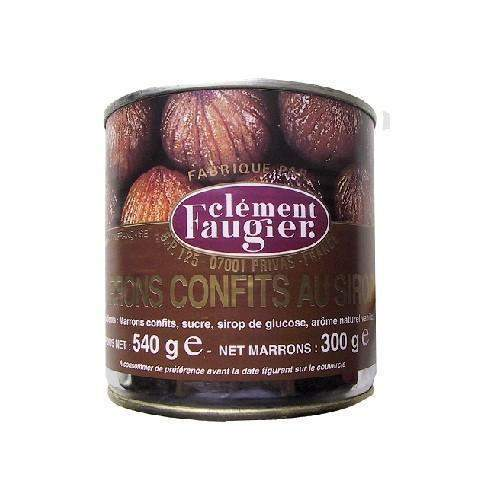Clement Faugier Whole Candied Chestnuts in Syrup 19 oz-COOKING & BAKING-Clement Faugier-Le Tablier Bleu | Online French Supermaket