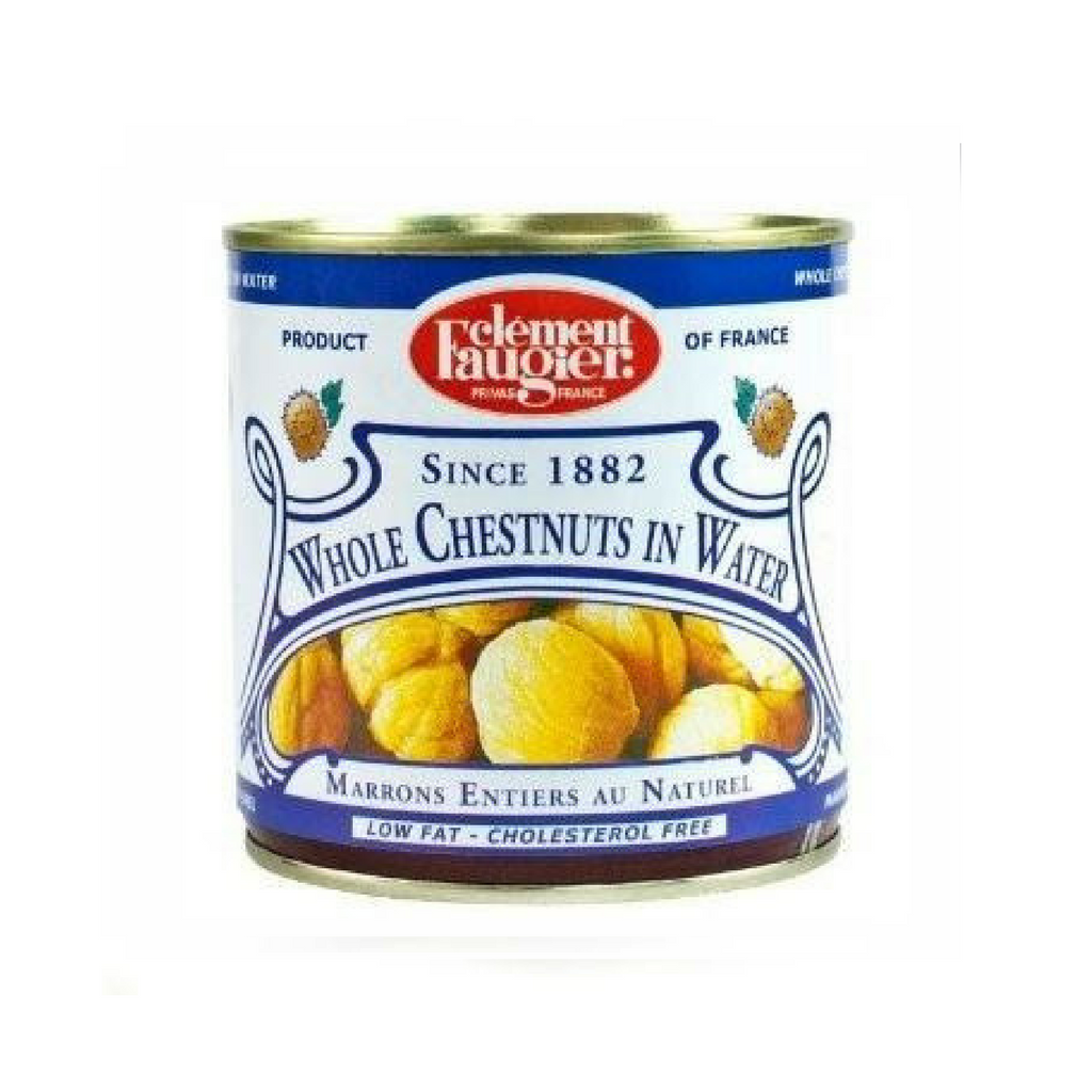 Clément Faugier · Whole chestnuts in water · 283g (10 oz)-COOKING & BAKING-Clement Faugier-Le Tablier Bleu | Online French Supermaket