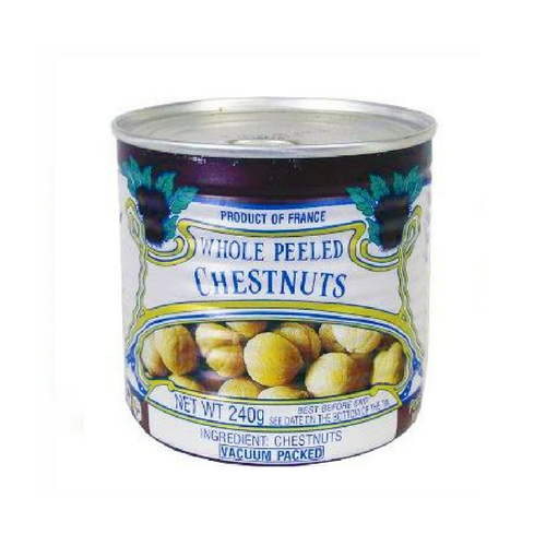 Clément Faugier · Whole chestnuts, vacuum-packed, can · 240g (8.5 oz)-COOKING & BAKING-Clement Faugier-Le Tablier Bleu | Online French Supermaket