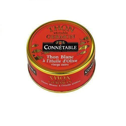 Connétable · White tuna in olive oil · 80g (2.8 oz)-FOIE GRAS & TRUFFLES-Connetable-Le Tablier Bleu | Online French Supermaket