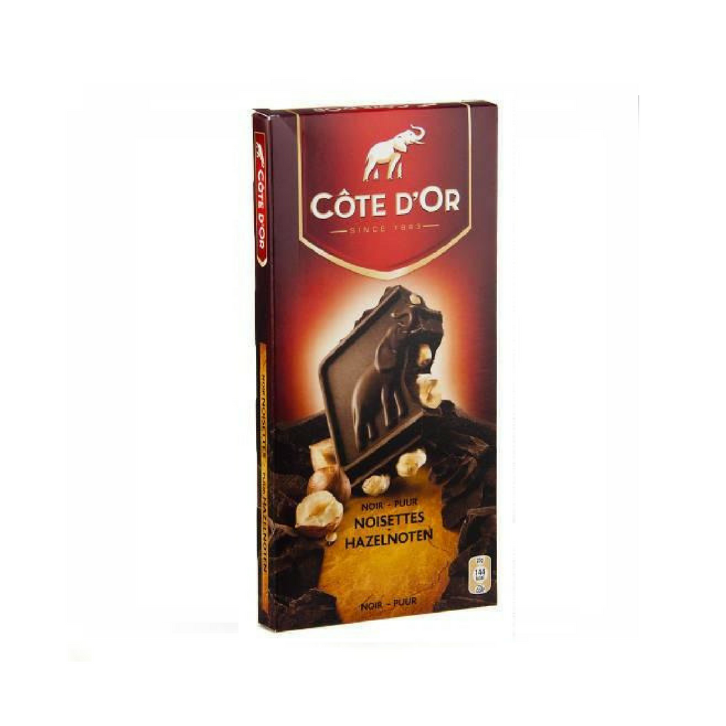Côte d'Or - Dark chocolate bars with almonds · 200g-DESSERTS & SWEETS-cote d'or-Le Tablier Bleu | Online French Supermaket