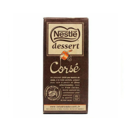 Dark Baking Chocolate Bar 65% Cocoa by Nestle 7 oz-Nestle-Le Tablier Bleu | Online French Supermaket