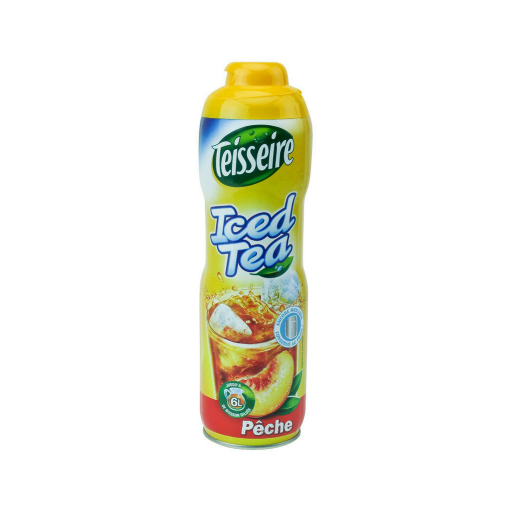 Teisseire French Iced Tea Syrup (20 oz. x 6)-Teisseire-Le Tablier Bleu | Online French Supermaket