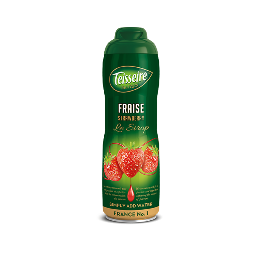 Teisseire · Strawberry syrup · 60cl (20.3 fl oz) Best Price-BEVERAGES-Teisseire-Le Tablier Bleu | Online French Supermaket