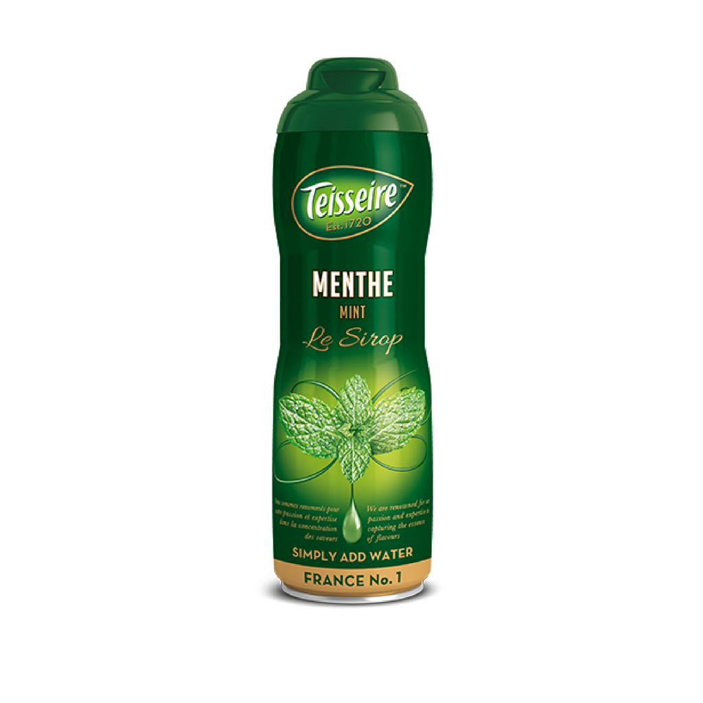 Teisseire · Mint syrup · 60cl (20.3 fl oz) Best Price-BEVERAGES-Teisseire-Le Tablier Bleu | Online French Supermaket
