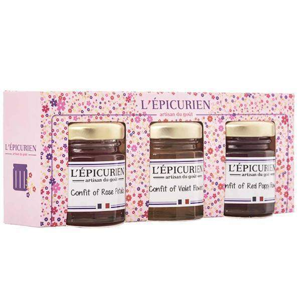 Epicurien Mini Flower Confit Set 5.2 oz. (150g)-Epicurien-Le Tablier Bleu | Online French Supermaket