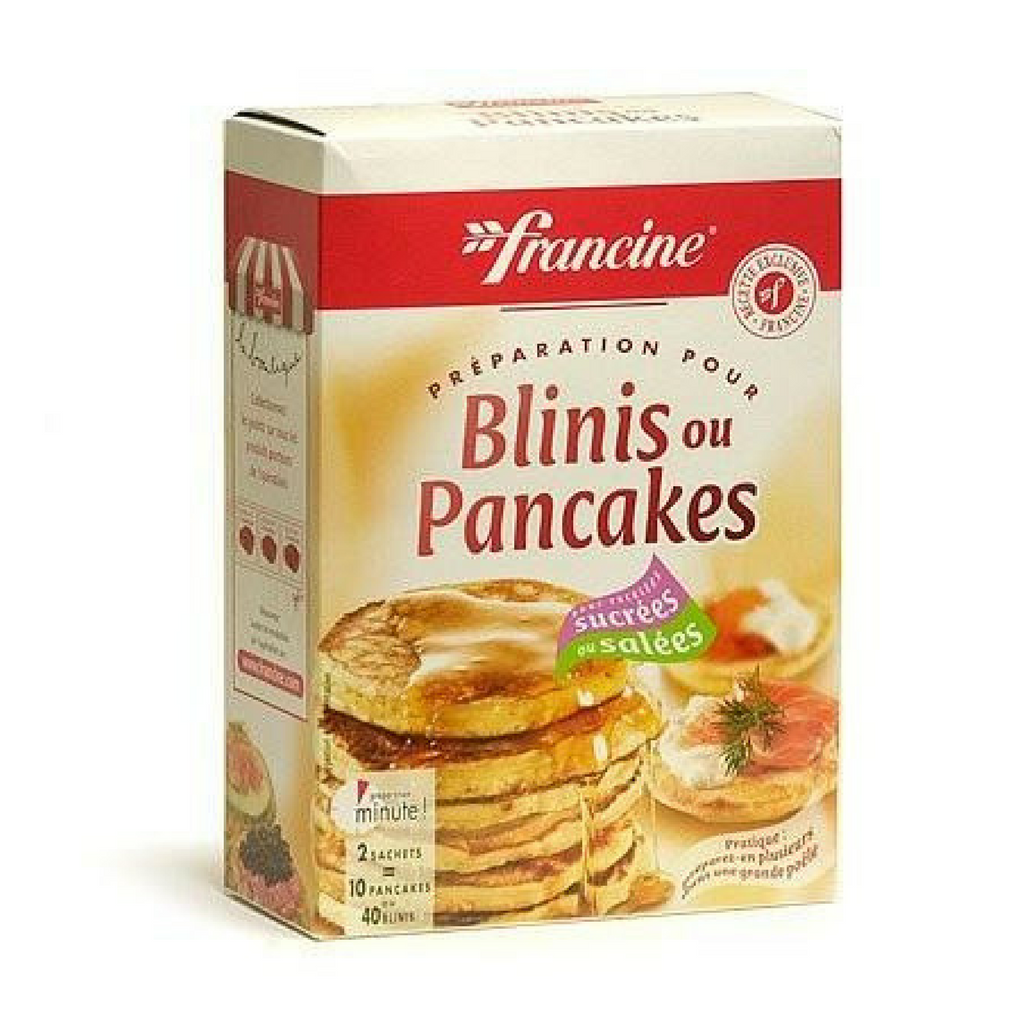 Francine French Blinis or Pancake Instant Mix - Makes 40 Blinis or 10 Pancakes-COOKING & BAKING-Francine-Le Tablier Bleu | Online French Supermaket