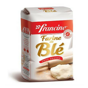 Francine · Wheat flour · 1kg (2.2 Lb)-COOKING & BAKING-Francine-Le Tablier Bleu | Online French Supermaket
