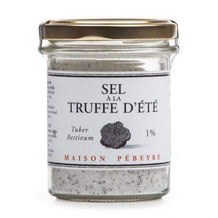 French Black Truffle Sea Salt - Maison Pébeyre-FOIE GRAS & TRUFFLES,FRENCH ÉPICERIE,COOKING & BAKING-Maison Pebeyre-Le Tablier Bleu | Online French Supermaket