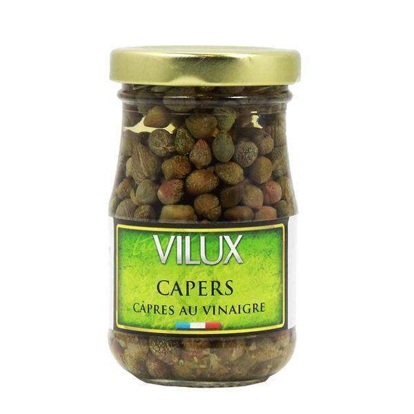 French Capers in Vinegar by Vilux 2.1 oz-Vilux-Le Tablier Bleu | Online French Supermaket